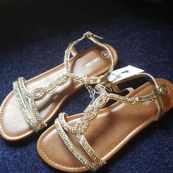 Cherokee Other - Gold sandals